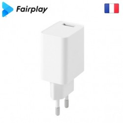 Chargeur 1 USB (Blanc) MILANO