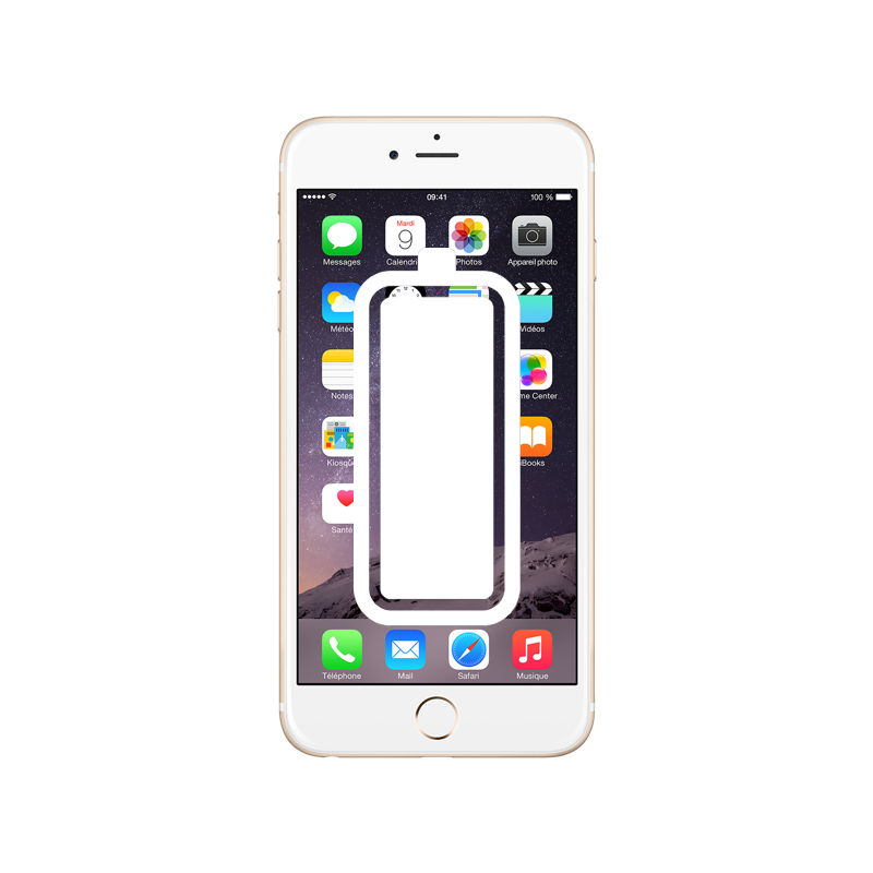 Ecran iPhone 6 - LCD Original - Assemblé - Noir